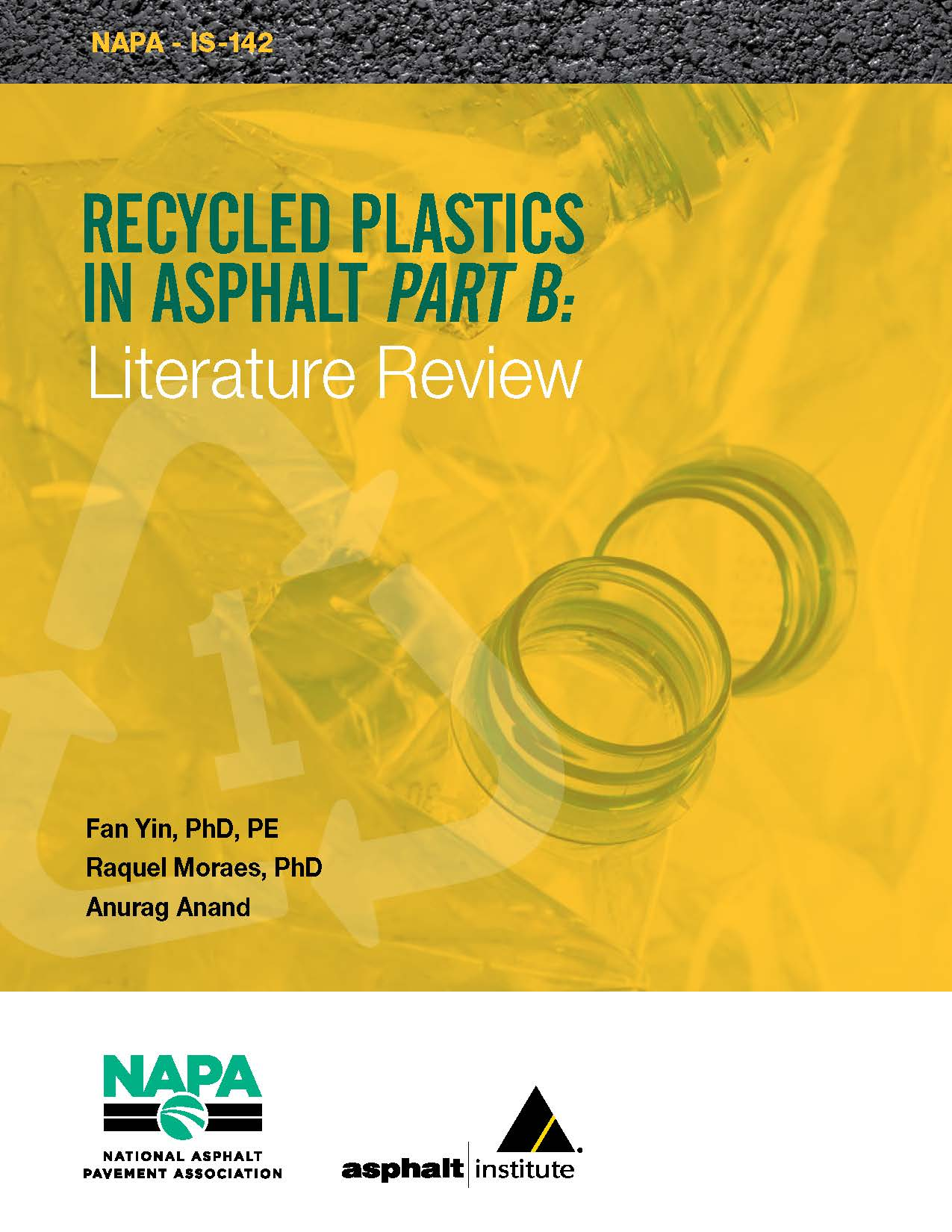 Recycled Plastics in Asphalt Part B: Literature Review