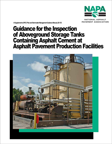 Guidance for the Inspection of Aboveground Storage Tanks Containing Asphalt Cement at Asphalt Pavement Production Facilities [PDF]