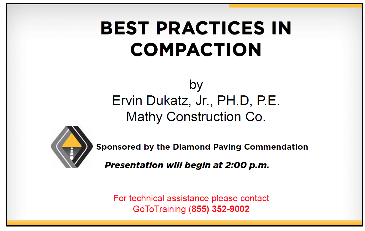 Best Practices in Compaction