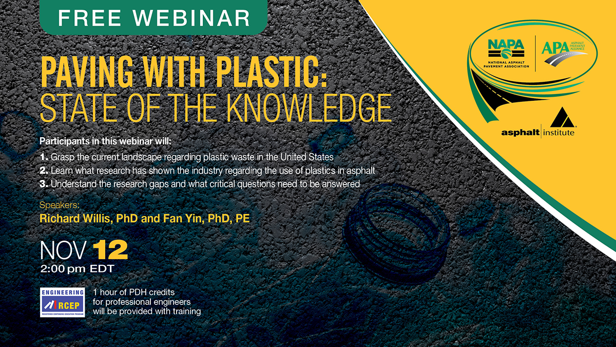 Paving with Plastic: State of the Knowledge